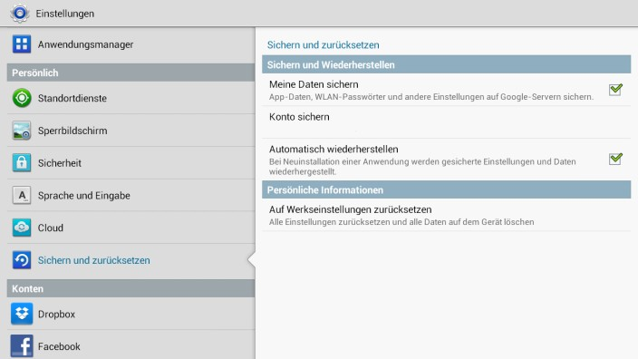 Backup-Funktion bei Android speichert Wlan-Passwörter auf Google-Servern