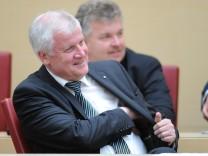 Landtag Bayern Horst Seehofer