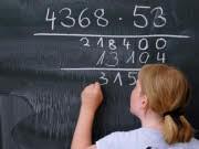 Hauptschule Mathe Schüler Unterricht, ddp