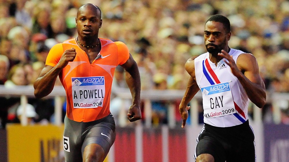 Tyson Gay and Asafa Powell test positive for banned substances