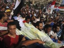Mursi Ägypten Muslimbrüder Proteste