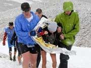 Zugspitzlauf, Extremsport, dpa