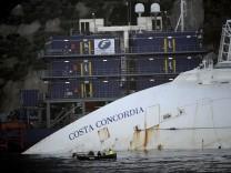 Wrack Costa Concordia Schiff Schiffswrack
