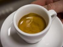 Kaffee von Hand gemacht