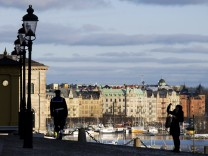 Stockholm skyline tourism