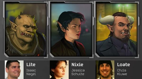 Porträts von Unterstützern von Shadowrun Returns