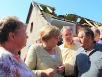 Bundeskanzlerin Merkel in Fischbeck