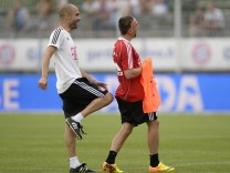 FBL-ITALY-GERMANY-BAYERN MUNICH-TRAINING CAMP