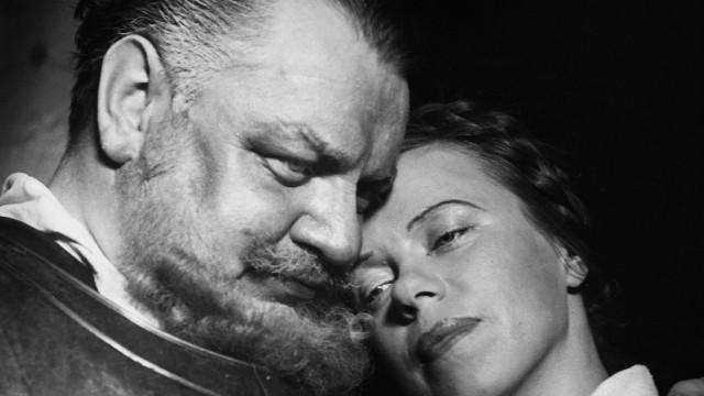 """Heinrich George und Berta Drews in dem Theatersück """"Götz von Berlichingen"""", 1937"""
