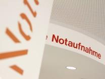 Notaufnahme im Krankenhaus Harlaching in München, 2012