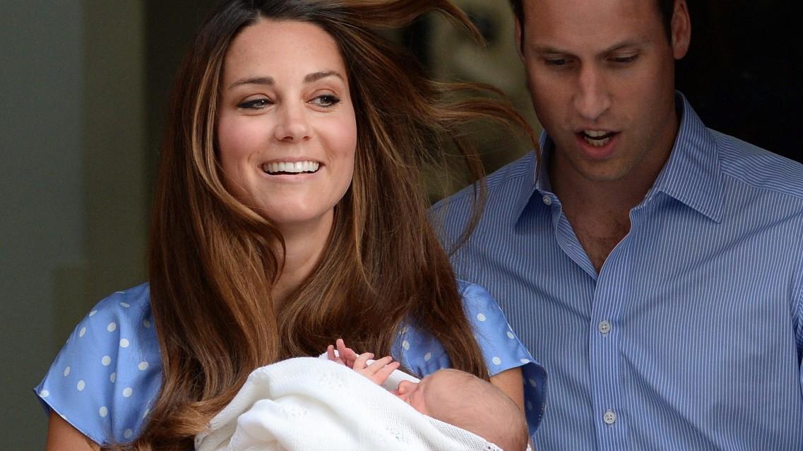 Royal Baby Von Kate Und William Heißt George Panorama Süddeutschede