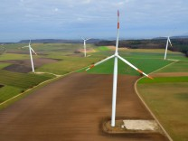 Windkraftprojekt in Unterfranken