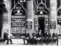 Reisebüro in Köln, 1930