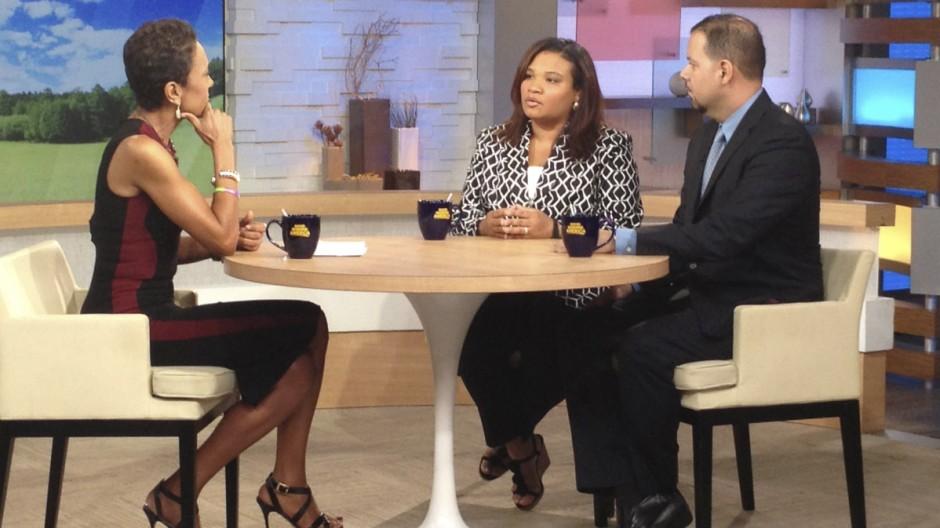 """Die Geschworene """"Maddy"""" im Interview bei ABC"""