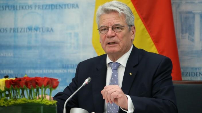 Gauck auf Staatsbesuch in Litauen