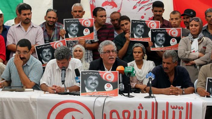 Hammami delivers press conference