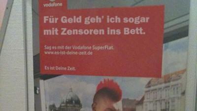Vodafone Kritik an Vodafone-Werbung