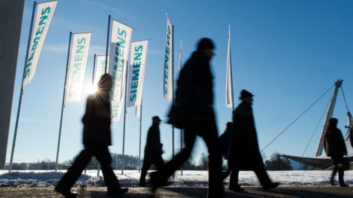 Siemens Hauptversammlung