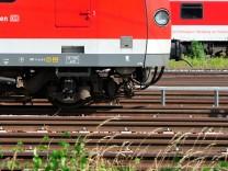 Hitze verformt Bahngleise