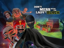 "Pakistanische Cartoon-Serie ""Burka Avenger"""