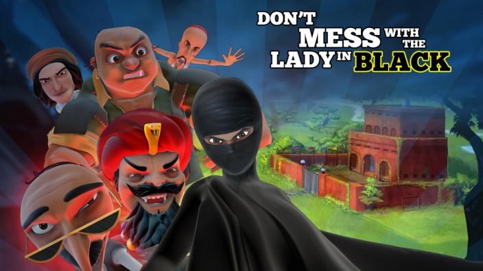"""Pakistanische Cartoon-Serie """"Burka Avenger"""""""