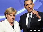 Barack Obama Angela Merkel Atomgipfel Washington dpa