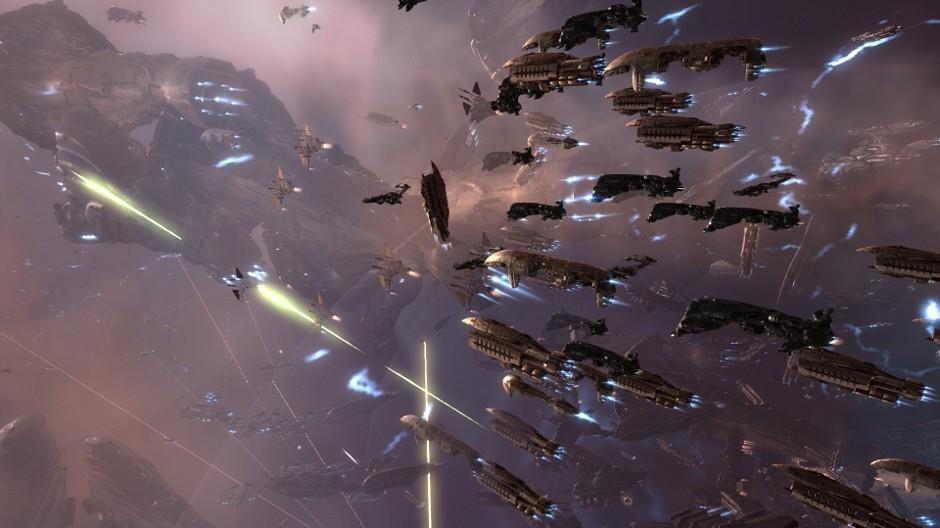 4000 Spieler bestreiten größtes Weltraumgefecht der Geschichte