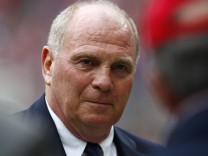 File photo of Bayern Munich's President Hoeness
