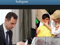 Assad Instagram Syrien