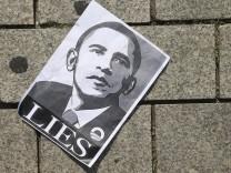 Demonstrators Protest NSA Surveillance