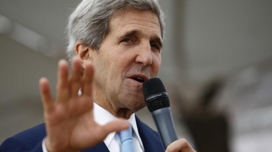 US Außenminister John Kerry Mursi