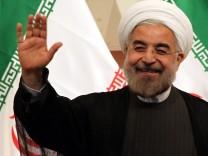 Vor Amtseinführung Hassan Ruhani