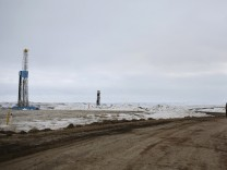 Fracking in Williston in North Dakota