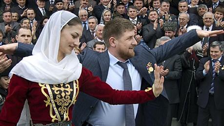 Ramsan Kadyrow Tschetschenien AP
