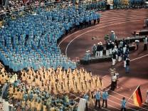 München 1972 - Einmarsch deutsches Team