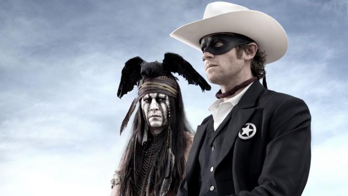 Lone Ranger Kino Johnny Depp Armie Hammer