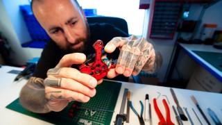 """Grafing """"Handmade Tattoo Machines"""""""