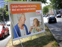 CDU Wahlkampf Bundestag Bundestagswahl