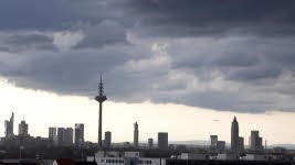 Frankfurt, Skyline, Kreditklemme, AP