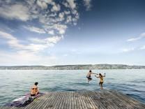 Sunny weatherin Switzerland