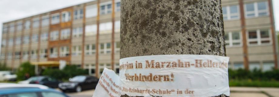 Geplante Notunterkunft in Marzahn-Hellersdorf