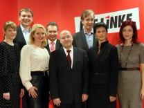 Die Linke - Vorstellung Spitzenteam für Bundestagswahl