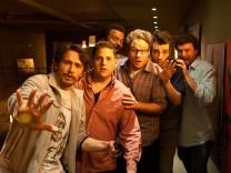 """Film """"Das ist das Ende"""" mit James Franco, Jonah Hill und Seth Rogen im Kino"""