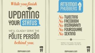 "Phubbing Kampagne gegen ""Phubbing"""