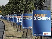 CDU-Wahlplakate in Berlin, ddp