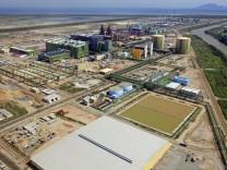 ThyssenKrupp-Stahlwerk bei Rio de Janeiro