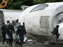 Spanish train crash aftermath