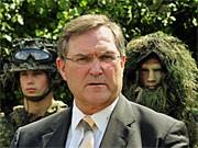 Verteidigungsminister Franz Josef Jung, ddp
