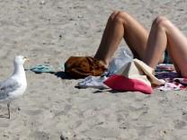 Sommerliche Hitze an der Ostsee