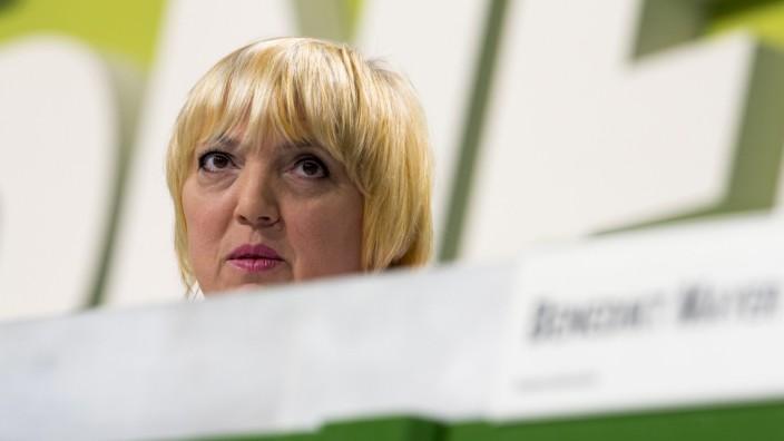 Claudia Roth auf dem Grünen-Parteitag im April 2013